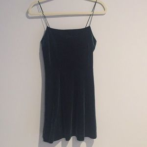 Velvet holiday dress